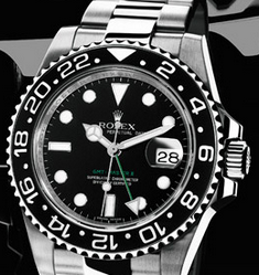 Functional Steel Rolex GMT-Master II Date Display Replica Watches