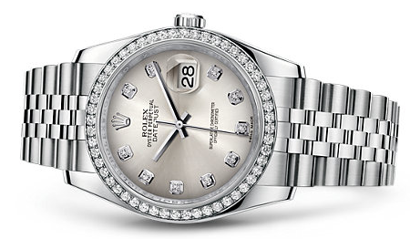 Women's White Gold Rolex Datejust Replica Watches