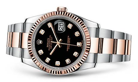 Black Dials Rolex Datejust Fake Watches