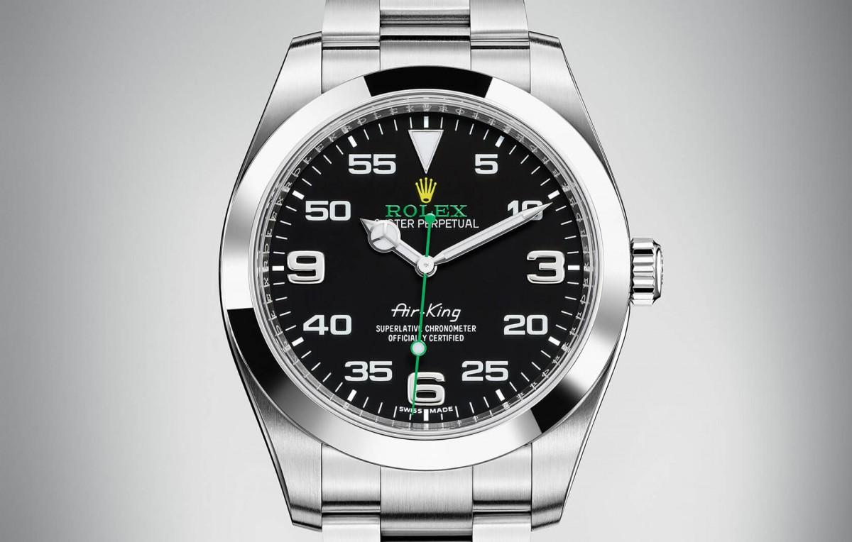 rolex-air-king-fake-black-dials