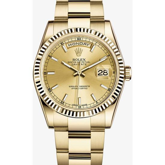 rolex-day-date-fake-yellow-gold-victoria-beckham