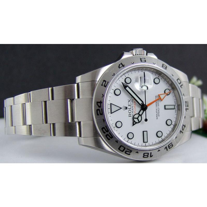 rolex-explorer-ii-fake-white-dials