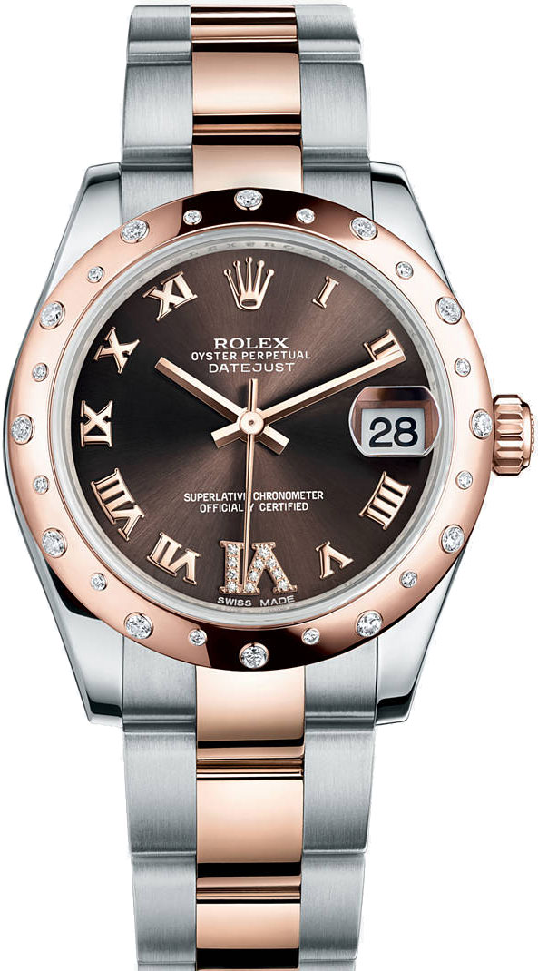 Rolex-Lady-Datejust-Chocolate-Dials-Replica