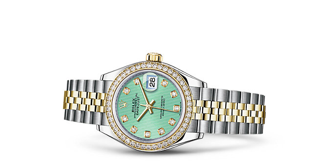 Rolex-Lady-Datejust-Mint-Green-Dials-Replica