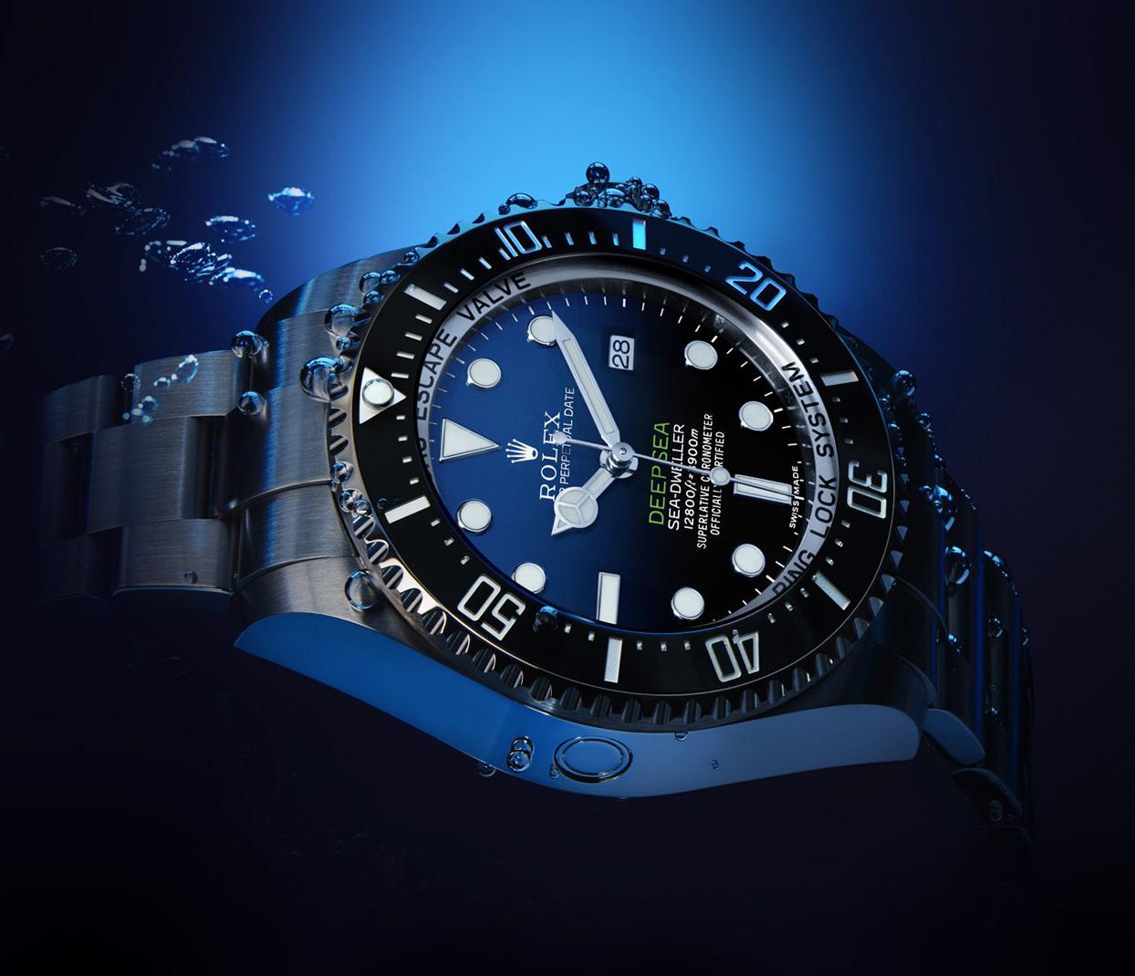 Rolex-Sea-Dweller-D-Blue-Dials-Fake