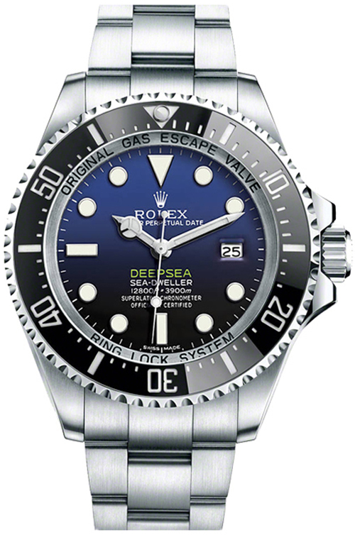 Rolex-Sea-Dweller-D-Blue-Dials-Replica