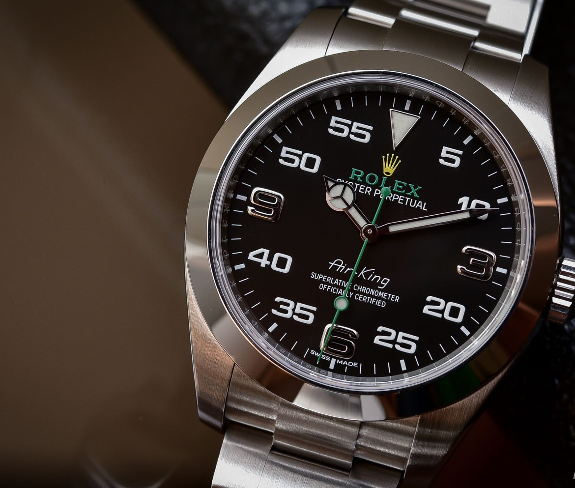 Rolex-Air-King-Black-Dials-New-Replica