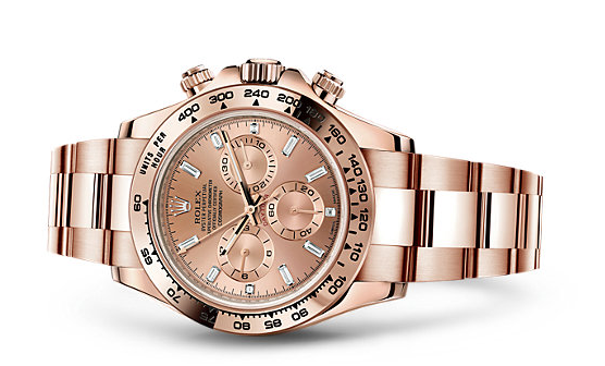Rolex-Cosmograph-Daytona-Pink-Dials-Replica