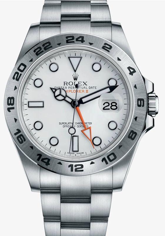 Rolex-Explorer-II-White-Dials-Replica