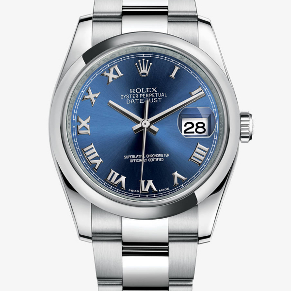This steel Rolex fake watch presents a unique charm of metal.