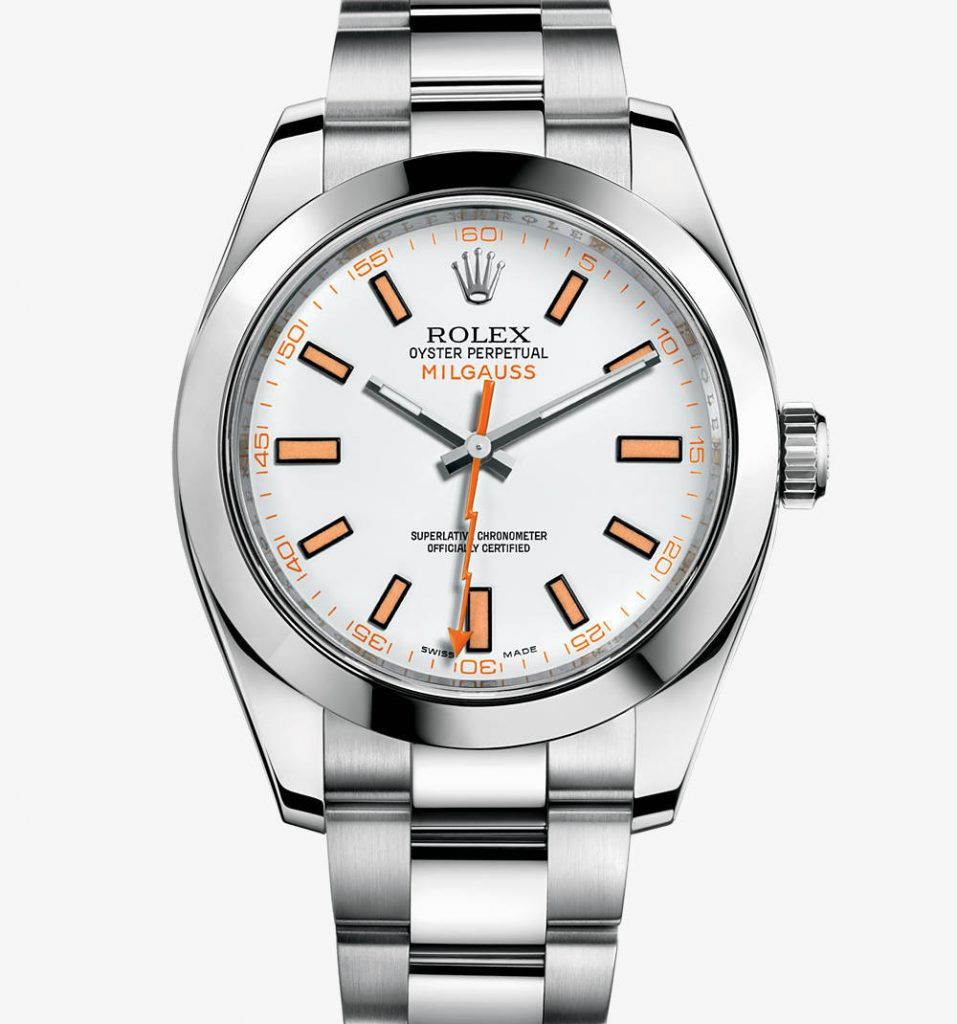 For the delicate decoration of the orange color, this replica Rolex easily attracted a lot of people.