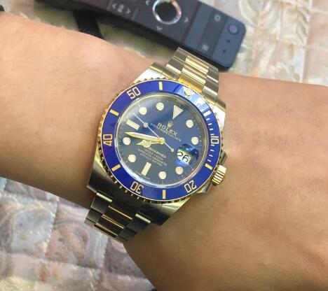 It is with the high cost-performance especially when comparing with the steel Submariner.