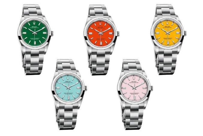 The best new Rolex Oyster Perpetual watches have attracted many young men.
